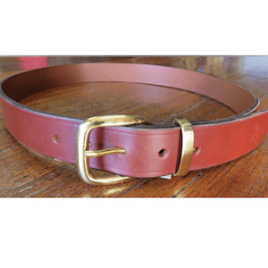 Leather Belts & Belt Buckles