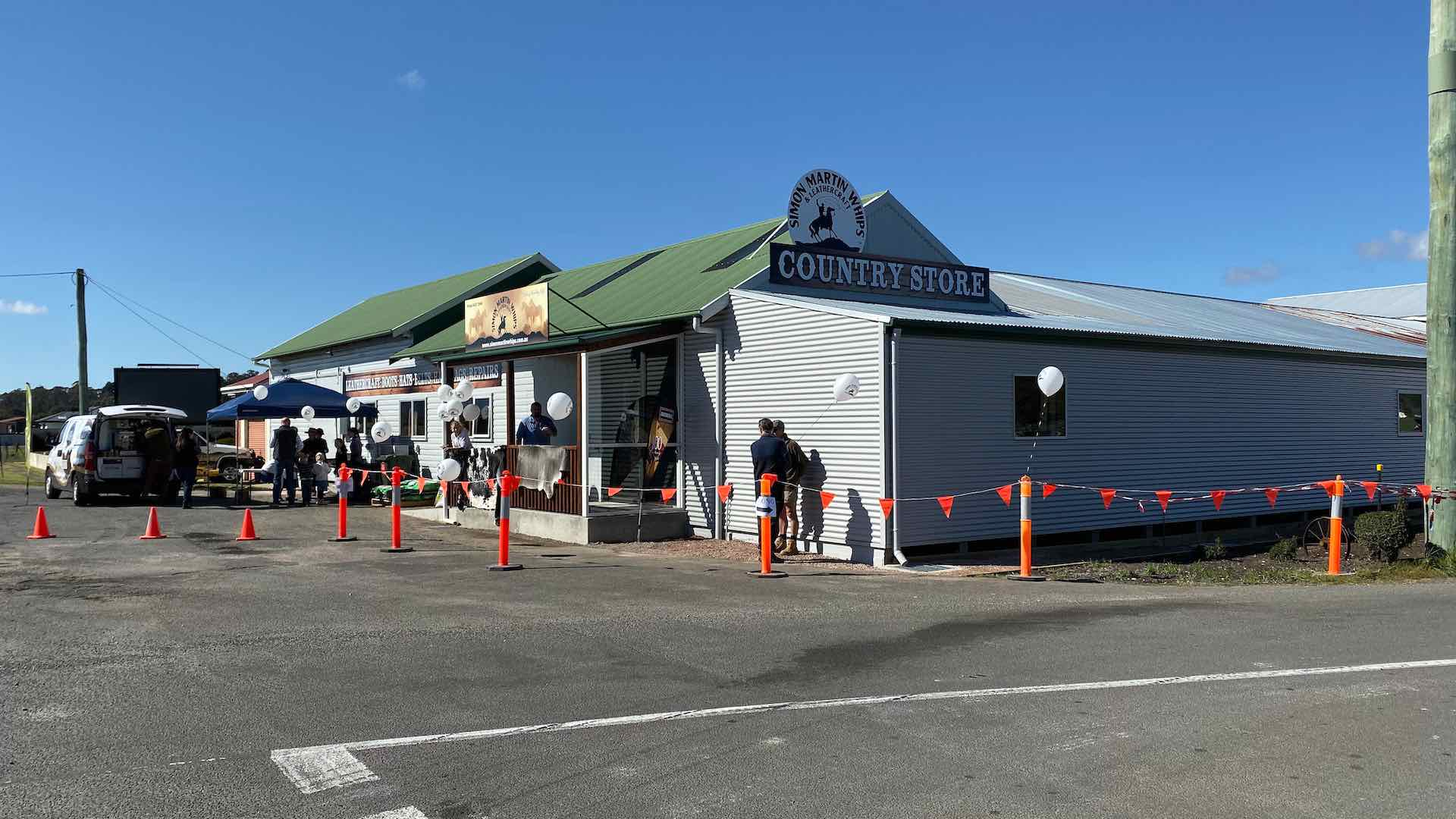 Simon Martin Whips New store in Spreyton