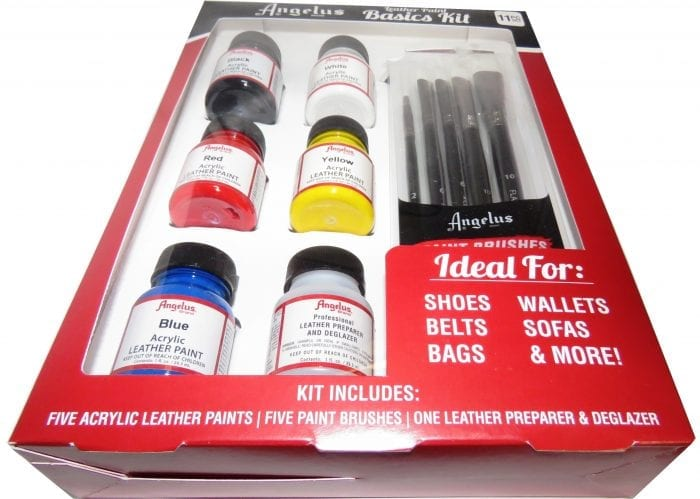 Angelus Basic Leather Paint Kit